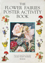 The Flower Fairies Poster Activity Book  Cicely Mary Barker  シシリー・メアリー・バーカー 花の妖精たち