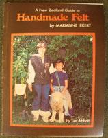 Handmade Felt   by MARIANNE EKERT ニュージーランド 家庭でつくるフェルトの本<sold out>