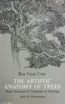 THE ARTISTIC ANATOMY OF TREES   Rex Vicat Cole   Dover