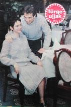 fűrge ujjak 1986/12 ハンガリー手芸雑誌 Sleeve fingers