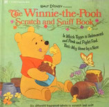 The Winnie the Pooh Scratch and Sniff Book  クマのプーさんこすってにおう絵本 ディズニー  Golden Fragrance Book