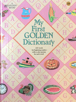 My First Golden Dictionary 243words for biginning readers with a color picture for each word A Golden Book