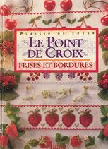 LE POINT DE CROIX FRISES ET BORDURES クロスステッチ いちごとボーダー