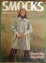 Smocks and Smocking  by Beverley Marshall スモックとスモッキングの本