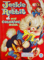 Jackie The Rabbit His Coloring Book  MERRILL 2531