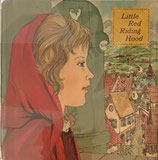 Little Red Riding Hood  あかずきんちゃん A Golden Square Book Jean Winslow