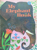 My Elephant Book A BIG GOLDEN BOOK Aurelius Battaglia ぞうのほん アウレリウス・バッタリア