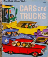 Cars and Trucks   Little Golden Book