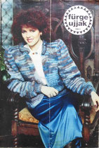fűrge ujjak 1988/2 ハンガリー手芸雑誌 Sleeve fingers