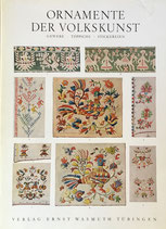 ORNAMENTE DER VOLKSKUNST gewebe/ teppiche/ stickereien  H.TH.Bossert ORNAMENTS OF THE FOLK ART