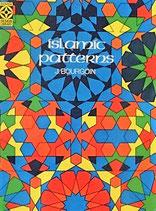 Islamic Patterns  イスラム・パターン J.BOURGOIN   Dover