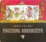 Pinocchiova dobrodružství  ピノッキオの冒険    ヘレナ・ズマトリーコヴァー