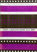 THE AMBASSADOR magazine NO.4 1969