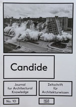Candide No.10 Journal for Architectural Knowledge