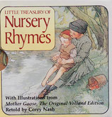 Little Treasury of Nursery Rhymes ミニブック6冊set 函入