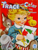 Trace and Color the pictures MERRILL1572