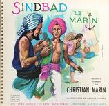 SINDBAD le Marin un livre-disque le petit  ménestrel シンドバッド レコード付