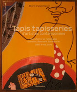 Tapis/ tapisseries d'artistes contemporains コンテンポラリーアート カーペット
