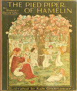 The Pied Piper of Hamelin ハメルンの笛ふき ケイト・グリーナウェイ クラシック版
