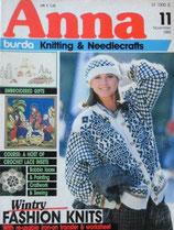 Anna burda アンナ ブルダ 1986年~1997年 102冊