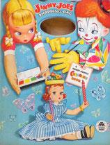 Jinny-Joe's Shopping Bag a Handy Handle Coloring Book  MERRILL 2546