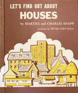 LET'S FIND OUT ABOUT  HOUSES MARTHA and CHARLES SHAPP pictures by PETER COSTANZA ソノシート付き