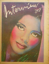 Andy Warhol's Interview Magazine 1977 vol.ⅤⅡ no.10