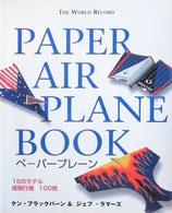 PAPER AIR PLANE BOOK  ペーパープレーン ケン・ブラックバーン&ジェフ・ラマーズ