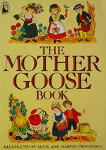 THE MOTHER GOOSE BOOK     ALICE AND MARTIN PROVENSEN プロヴェンセン
