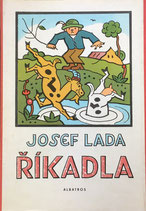 Říkadla Josef Lada  Albatros 1966  ヨゼフ・ラダ