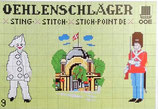 Oehlenschlager  OOE デンマークのクロスステッチ図案集