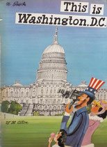 This is Washington,D.C.   M.Sasek  ミロスラフ・サセック W.H ALLEN 版