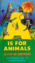 A Is for Animals  David Pelham pop-up
