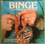 Binge: En hallandsk sticktradition スウェーデンBINGEの本<sold out>
