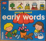 Early Words Picture Board