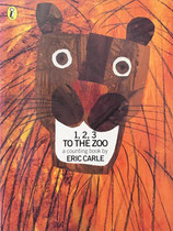 1, 2, 3, to the Zoo a counting book by Eric Carle 1,2,3どうぶつえんへ エリック・カール