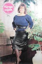 fűrge ujjak 1988/1 ハンガリー手芸雑誌 Sleeve fingers