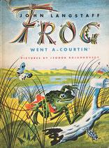 Frog Went a Courtin' Feodor Rojankovsky 1960 The World's Work版 かえるだんなのけっこんしき ロジャンコフスキー