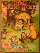 THREE BEDTIME STORIES  3つのおやすみのおはなし ガースウィリアムズ A BIG GOLDEN BOOK