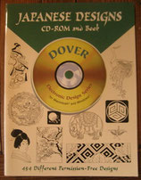 Japanese Designs CD-ROM and Book   Dover
