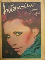 Andy Warhol's Interview Magazine 1977 vol.ⅤⅡ no.6
