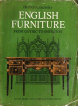 ENGLISH FURNITURE  Herbert Cescinsky from Gothic to Sheraton  DOVER