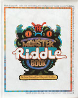 The monster riddle book Jane Sarnoff