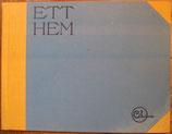 Ett hem 24 målningar med text av Carl Larsson  わたしの家 カール・ラーション画集