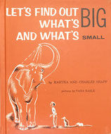 Let's Find out What's BIG and What's SMALL Charles and Martha Shapp pictures by Vana Earle ソノシート付