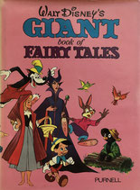 Walt Disney's  Giant book of fairy tale ディズニー 童話