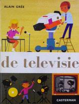 de televisie   Alain Gree    テレビの本 アラン・グレ