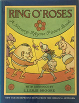 RING O'ROSES Nursery Rhyme Picture Book レスリー・ブルック clarion books版
