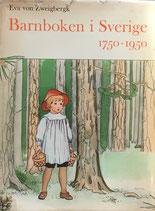 Barnboken i Sverige 1750-1950  EVA VON ZWEIGBERGK