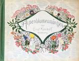 Alpenblumenmarchen Ernst Kreidolf エルンスト・クライドルフ アルプスの花物語 Rotaofel-Verlag版 ドイツ語